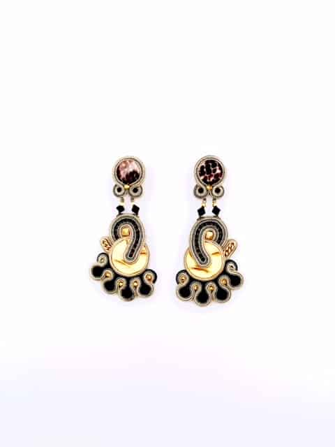 Dori-Csengeri-black-gold-earrings
